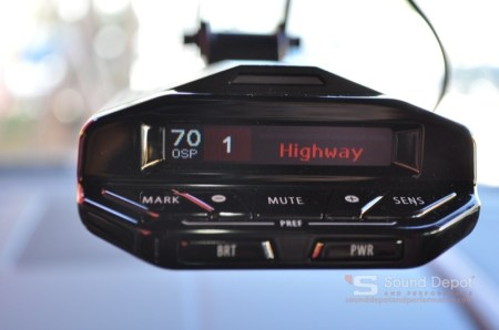 Jaguar F-Type Radar Detector