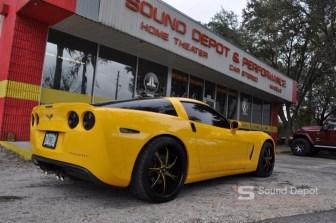 Chevrolet Corvette Audio
