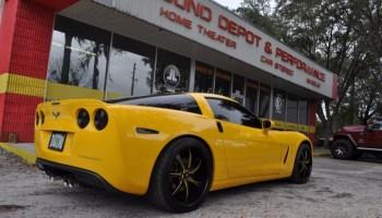 Gainesville Client Gets Corvette Z06 Audio Upgrades