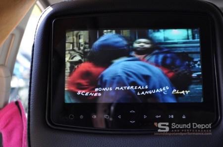 Honda CRV Rear Seat Entertainment