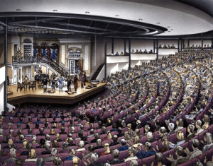 How To Mic An 800 Seat Theatre With Floor Mics