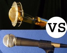 Condenser vs. Dynamic Microphones For Live Sound
