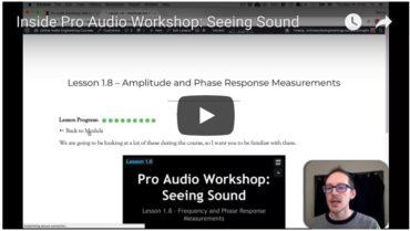 Inside Pro Audio Workshop: Seeing Sound