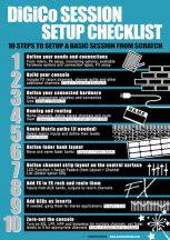 Download the DiGiCo Session Setup Checklist