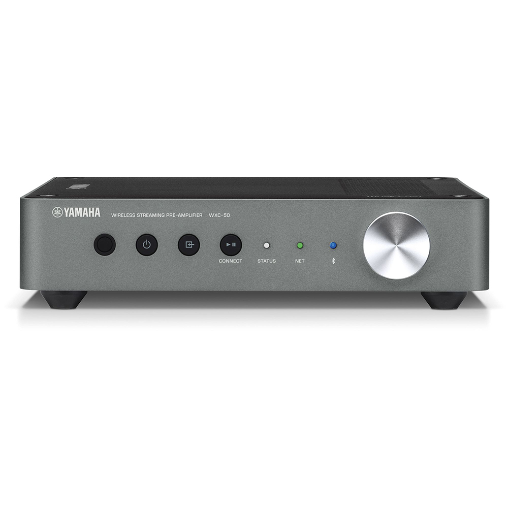 hight resolution of yamaha wxc 50bl black musiccast wireless streaming preamplifier