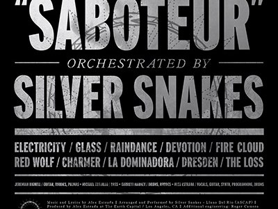 Album Review: Silver Snakes – Saboteur