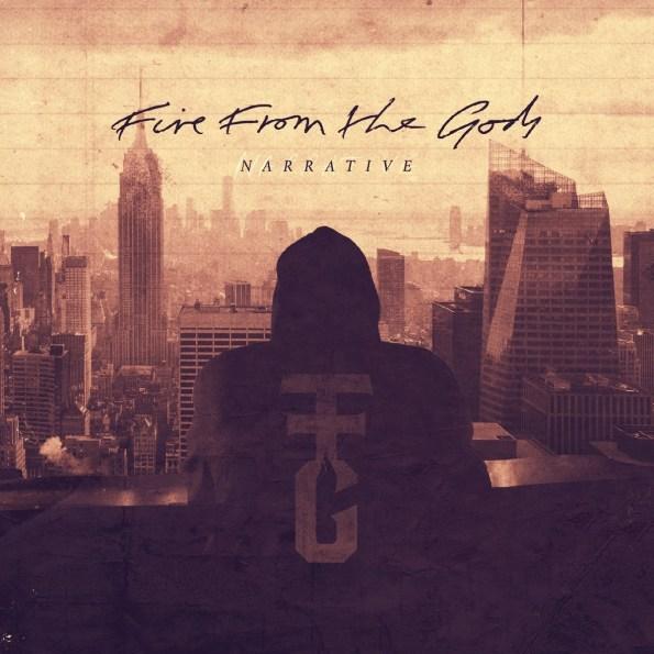 Fire From The Gods - Narrative Album Art
