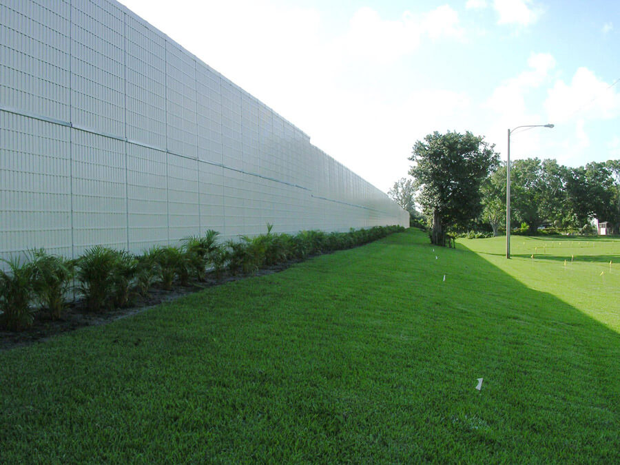 noise barrier wall panels