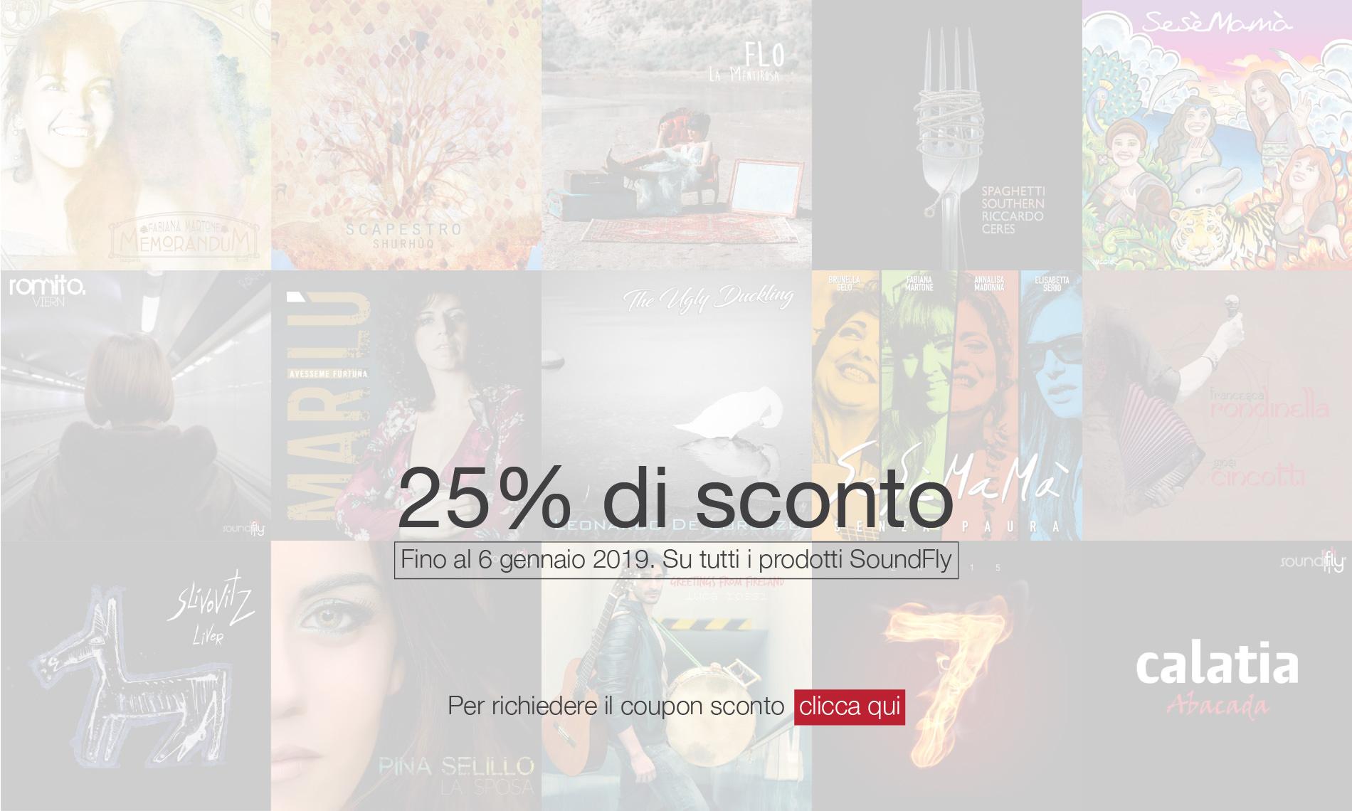 SoundFly - Sconto 25% Natale 2018