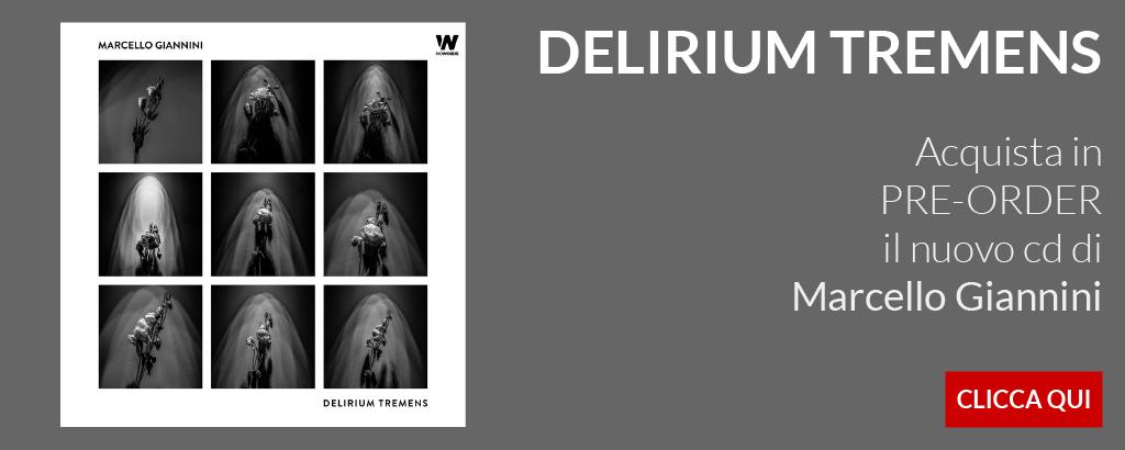 Banner PRE-ORDER Delirium Tremens di Marcello Giannini