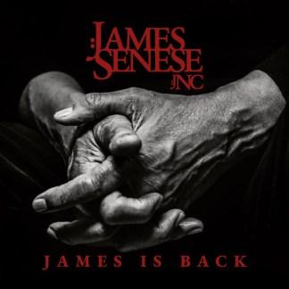 Copertina James is back di James Senese.