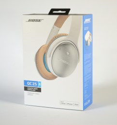 a photo of the bose quietcomfort 25 in their packaging  [ 2400 x 1600 Pixel ]