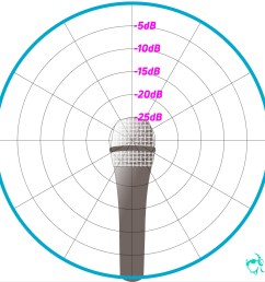 an example of a polar chart detailing the pickup pattern of an omnidirectional microphone  [ 1900 x 1267 Pixel ]