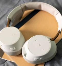 plantronics backbeat go 810 headphones pictured lying flat  [ 1920 x 1080 Pixel ]