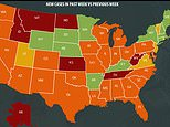 US Centers For Disease Control And Prevention: Cases rise in 40 states though death...