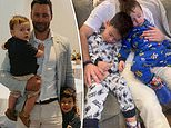Jimmy Bartel shares adorable photo of his two...