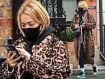 Rita Ora shows off her wild side as...