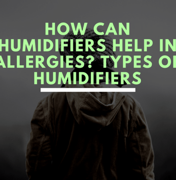 Types of humidifiers
