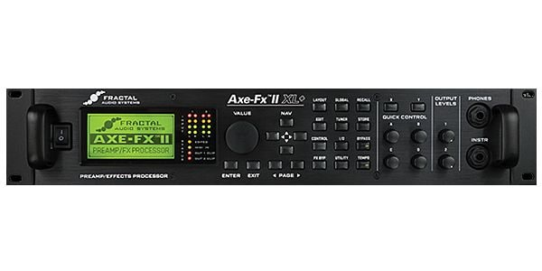 Fractal Audio Systems ( フラクタルオーディオシステムズ ) / Axe-Fx II XL+