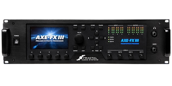 Fractal Audio Systems ( フラクタルオーディオシステムズ ) / Axe-Fx III