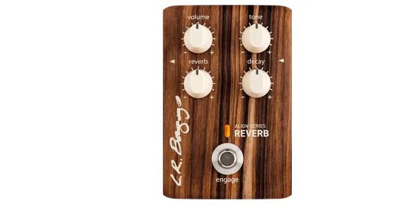 L.R.BAGGS 「ALIGN SERIES(アライン シリーズ)REVERB」は、アコースティック楽器用の自然な響きを損なわずに、リバーブ効果を付加できるオススメのペダルです。また、トーンを調整することで音のニュアンスを多彩に表現できます。