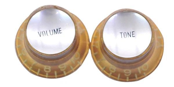 MONTREUX ( モントルー ) / Vintage Tint Reflector knob Gold 1V1T