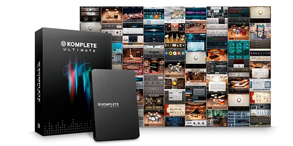 18,000以上のサウンドを収録した業界標準のソフトウェアバンドル「KOMPLETE 11 ULTIMATE」
