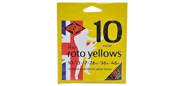 ROTOSOUND ( ロトサウンド ) / R10 ROTO YELLOWS REGULAR