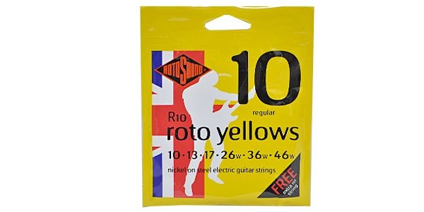 ROTOSOUND ( ロトサウンド ) / R10 ROTO YELLOWS REGULAR