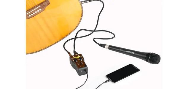 Saramonic ( サラモニック ) / SmartRig+ Di iOS用オーディオインターフェイス Lightning接続