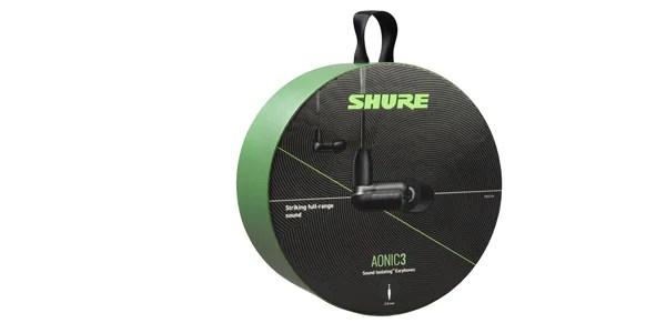 SHURE ( シュアー ) / AONIC3 SE31BABKUNI-A ブラック 高遮音性イヤホン