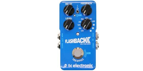 ■TC ELECTRONIC(ティーシーエレクトロニック)/Flashback 2 Delay ディレイ・ペダル