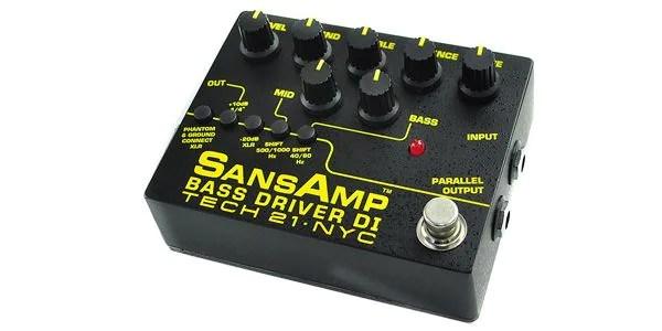 TECH21 / Sansamp Bass Driver DI V2