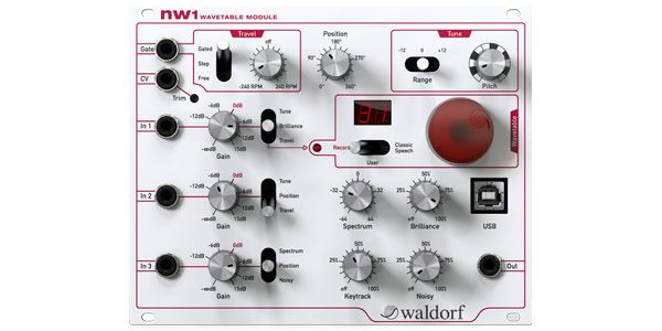 WALDORF nw 1 ウェーブテーブルオシレータ by サウンドハウス