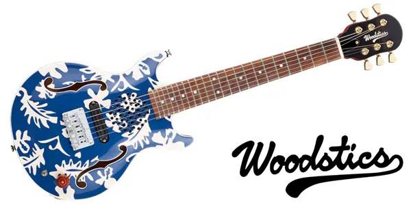 Woodstics ( ウッドスティックス ) / WS-MINI ALOHA Blue & White Aloha