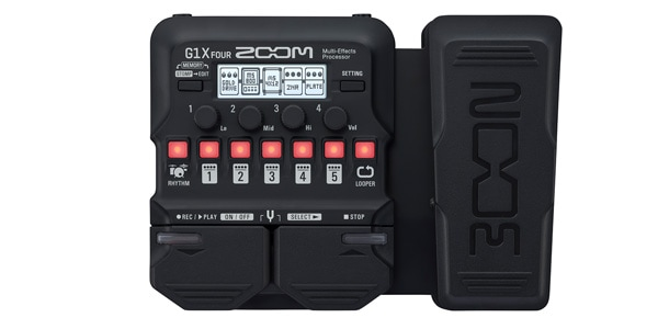 ZOOM ( ズーム ) / G1X FOUR ギター用マルチエフェクター