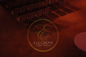 Custom Monogram for corporate event at Elk Grove Event Center