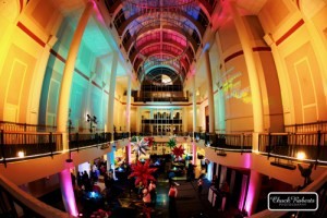 Lighting for Corporate Event at Library Galleria