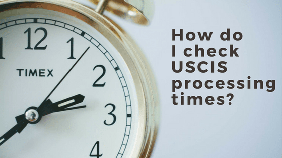 How do I check USCIS processing times? - Sound Immigration
