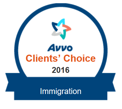 Client Choice Award - Immigration Lawyer