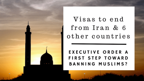Order Ends Visas In 7 Countries (more Later) And Suspends Refugee Program