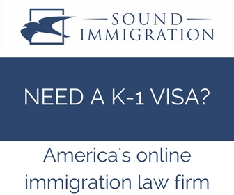 Large rectangular – K-1 visa