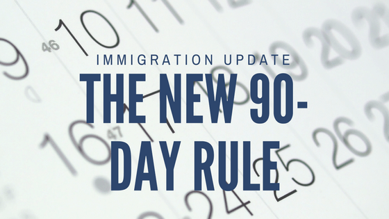 What is the new 30/60/90 day rule? Now it's just the 90-day rule.