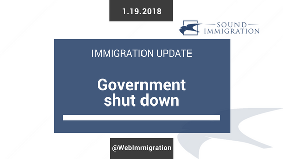 What Would A Government Shutdown Mean For Immigration Cases And Immigration Applications?