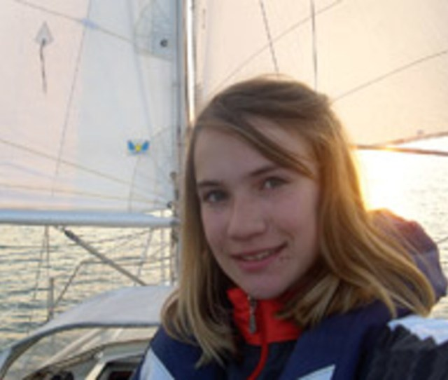 Fourteen Year Old Laura Dekker Of The Netherlands Is The Youngest Of Five Teenagers
