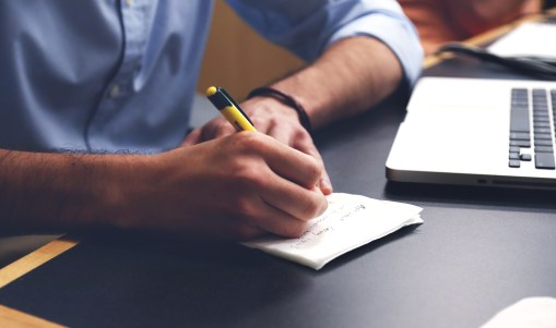 Write down your career goals