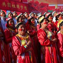 Chair Dance Ritual Song Red Sashes For Wedding Islamic Extremism And Sonic Territoriality Organised Events Have Become A Cornerstone Of The Anti Campaign Cultural Bureaux Across Xinjiang Villagers To