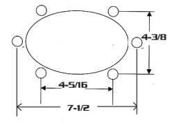 Soundlabs Group Custom Autosound 5x7 Dual Voice Coil