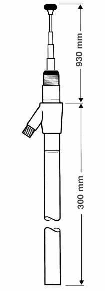 Soundlabs Group Hirschmann AUTA 4090L Manual Extendable Aerial