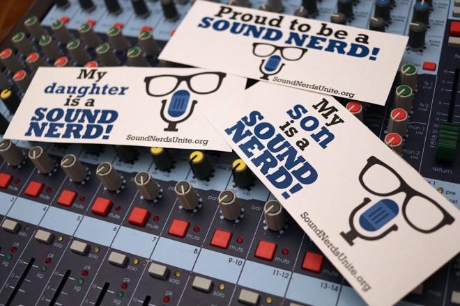 Sound Nerds Unite Sticker